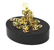 Jouets Aimantés Pièces Jouets Aimantés Gadgets de Bureau Casse-tête Cube Jouets DIY Boules magnétiques Doré Jouets Educatifs Pour cadeau