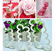 Rose Flower Mold Cake Fondant Cake Cookie Decorating Sugarcraft Cutter Tool ,Set of 3