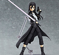 Las figuras de acción del anime Inspirado por Sword Art Online Kirito 15 CM Juegos de construcción muñeca de juguete