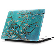 """Case for Macbook Air 11.6""""/13.3"""" Flower Plastic Material Colored Drawing~27 Style Flat Shell"""