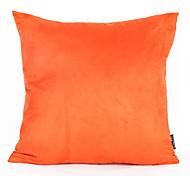 1Pc 45*45Cm Orange Color Suede Cushion Cover Home Decorations
