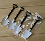 cheap -Kitchen Tools Plastics Ice Cream Spades & Shovels Dessert Spoon Novelty 100pcs
