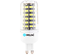 cheap -7W 600 lm G9 LED Corn Lights T 64 leds SMD Warm White Cold White AC 220-240V