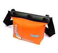 Сухие боксы Водонепроницаемые сумки Сотовый телефон Чехлы для камер Защита от влаги Подводное плавание и снорклинг PVCКрасный Оранжевый