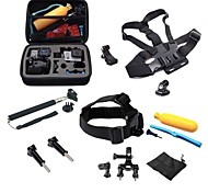 Chest Harness Front Mounting Clip Waterproof Housing Case Monopod Tripod Mount / Holder Adjustable Anti-Shock Waterproof All in One