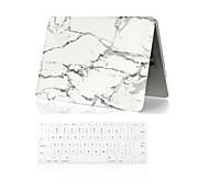 """caja de cuerpo completo 2 en 1 + mármol cubierta del teclado para MacBook Air 11 """"/ 13"""""""