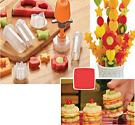 Недорогие -Ножи для овощей и фруктов Пластик ABS,