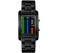 Skmei®Men's Fashion Alloy LED Multifunction Wrist Watch 30m Waterproof Assorted Colors Cool Watch Unique Watch