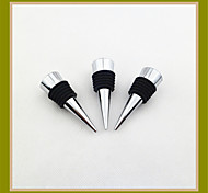 6 Red Wine Stopper Body Hollow Flat Wire
