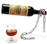 холодный тип цепи держатель бутылки вина стойки красного вина поддержка стенд кронштейн