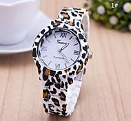 Women's European Style Leopard Print Fashion Wrist Watch Cool Watches Unique Watches Strap Watch