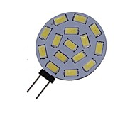 cheap -5W 3000-3500/6000-6500 lm G4 LED Spotlight MR11 15 leds SMD 5730 Decorative Warm White Cold White DC 24V AC 24V AC 12V DC 12V