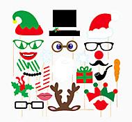 Недорогие -Рождество Особые случаи Плотная бумага Полиэстер Свадебные украшения Праздник Классика Весна, осень, зима, лето