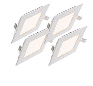 cheap -2800-6500 lm LED Panel Lights 30pcs leds SMD 2835 Decorative Warm White Cold White Natural White AC 85-265V