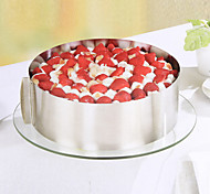 Stainless Steel Circle Of mousse Cake Every Circular Mould 6 Inch And 12 Inch Baking Tools Can Be Adjusted