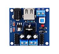 модуль напряжения питания DC-DC регулятор для arduino3.3 ~ 5v множественный вход напряжения питания постоянного тока стабилизации модуля