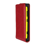 For Nokia Case Flip Case Full Body Case Solid Color Hard PU Leather Nokia Nokia Lumia 620 / Nokia Lumia 530 / Nokia Lumia 520