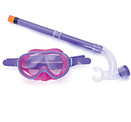 Big Box Child Water Fog Goggles Breathing Tube semi-Dry Snorkel Snorkeling Diving Equipment Glasses