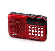 cheap -Multifunction N-518 Digital Song Card Small Stereo Radio Portable Player