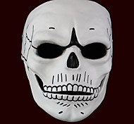 cheap -Spectre  Male White Cosplay Masks Mask Halloween/New Year
