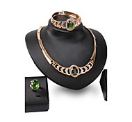 XIXI New Products 18k Gold  Jewelry Romantic  Necklace Jewelry Sets For Bridal Bijoux