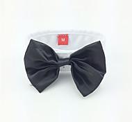 Cane Cravatta/Papillon Abbigliamento per cani Matrimonio Nero