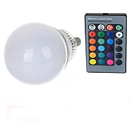 cheap -10W lm E14 LED Globe Bulbs A70 1 leds High Power LED Remote-Controlled RGB AC 85-265V