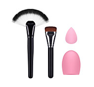 вентилятор кисти макияж кисти макияж фундамент небольшой слоеного и очистки яйца
