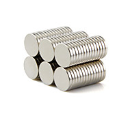 Magnet Toys Building Blocks Super Strong Rare-Earth Magnets 50 Pieces 10*1.5mm Toys Magnet Circular Gift