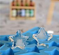 diy самодельная форма пентаграммы льда формы высокого качества новый (случайный цвет)
