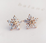 cheap -Women's Star Zircon Cubic Zirconia Imitation Diamond Stud Earrings Earrings - Bridal Fashion Star For Wedding Party Daily Casual
