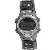 cheap -Children's Fashion Watch Sport Watch Quartz Casual Watch Fabric Band Cool Grey