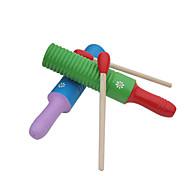 дерево красный / зеленый / желтый / синий ударный инструмент для детей все музыкальные инструменты игрушки