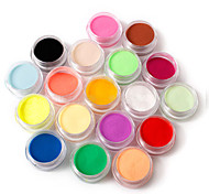 cheap -18pcs Loose powder Acrylic Powder Powder Classic Pastel High Quality Daily Nail Art Forms Nail Art Design