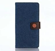 Für Sony Hülle Xperia X Xperia XA Xperia Z5 Xperia Z3 Hüllen Cover Geldbeutel Kreditkartenfächer mit Halterung Flipbare Hülle Handyhülle