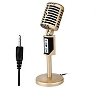 Com Fios-Microfone de Mesa-Microfone de Computador 3.5mm