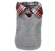 Saco Con Cuello de Camisa Para Perritos - XS a XL - Colores Surtidos
