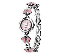 Women's Dress Watch Bracelet Watch Quartz Japanese Quartz / Alloy Band Butterfly Elegant Silver