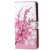 For Nokia Case Wallet / Card Holder / with Stand Case Full Body Case Tree Hard PU Leather Nokia Lumia 650