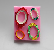 бронзовые зеркала шоколада силиконовые формы, формы торта, мыло прессформы, инструменты украшения выпекание