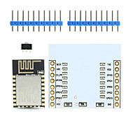 cheap -Landa Tianrui TM-ESP-12 ESP8266 Serial WiFi Wireless Module w/ PCB Antenna + Adapter Board for Arduino / Raspberry Pi