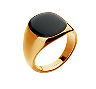cheap -Men's Band Ring Silver Golden 18K Gold Opal Alloy Fashion Christmas Gifts Party Daily Casual Costume Jewelry