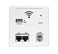 cheap -USB Charging Wireless Wall Wifi AP Repeater Router For Home Hotel