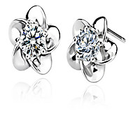 Women's Stud Earrings Fashion Silver Sterling Silver Geometric Jewelry For Wedding Party Daily