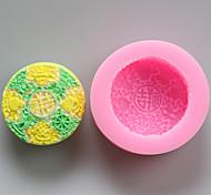 Недорогие -Китайский удачи шоколада силиконовые формы, формы торта, мыло формы, отделочные инструменты Формы для выпечки