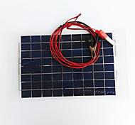 Недорогие -zdm® 10w 12v выход 0.65a монокристаллического кремния панели солнечных (dc12-18v)