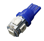 Недорогие -10 х ультра-синий T10 5-SMD 5050 привело интерьер лампочки W5W 158 192 2825 194 168