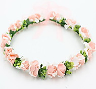 cheap -Women's Girls' Floral Cute Lovely Sweet Lace Alloy Headband Flower