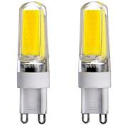 3W G9 LED Bi-pin Lights T 1 COB 300-350 lm Warm White Cold White Natural White 3000-6000 K Dimmable Decorative AC 220-240 AC 110-130 V