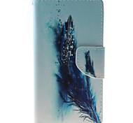 Недорогие -Для Кейс для HTC Кошелек / Бумажник для карт / со стендом / Флип Кейс для Чехол Кейс для Перо Твердый Искусственная кожа HTCHTC Desire